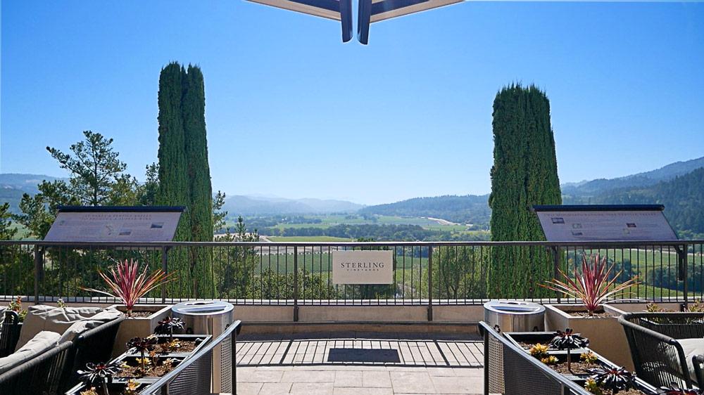 Sterling Vineyard Views of Napa Valley