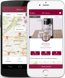 Winery Passport App