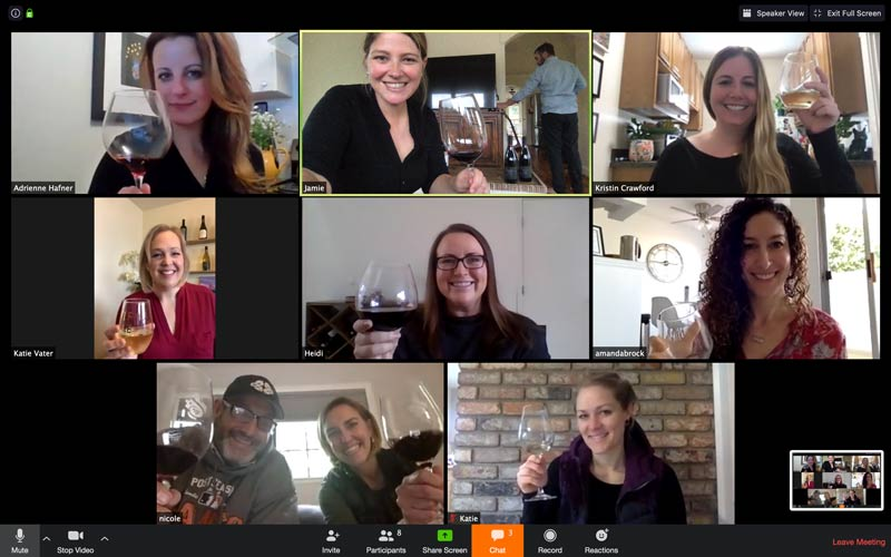 Virtual Wine Tasting with your friends and the winemaker