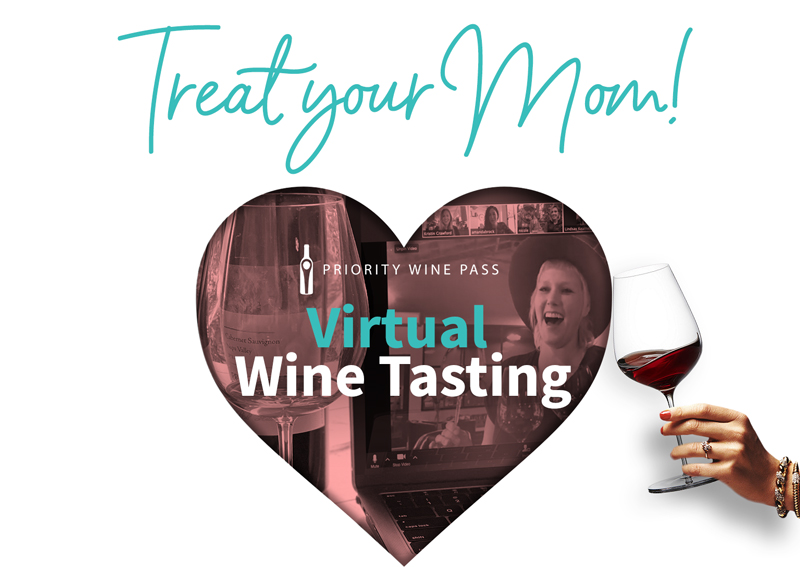 Virtual Wine Tasting Mother's Day Gift