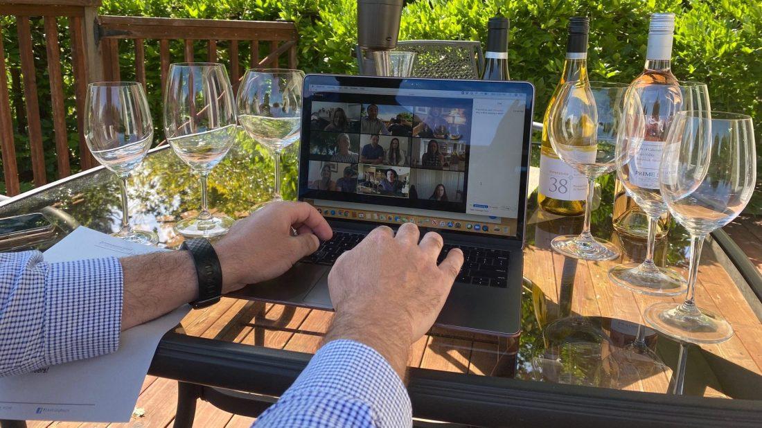 Corporate Virtual Wine Tastings