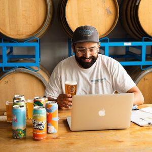 common space brewery virtual beer tasting