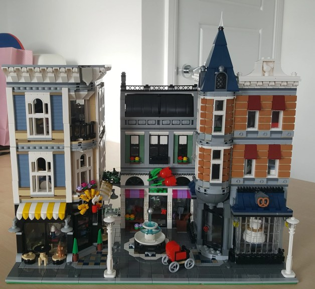 How to build an obsession: Buy LEGO Creator Expert Assembly Square | Prior Portfolio | Vicky Prior - Freelance Writer