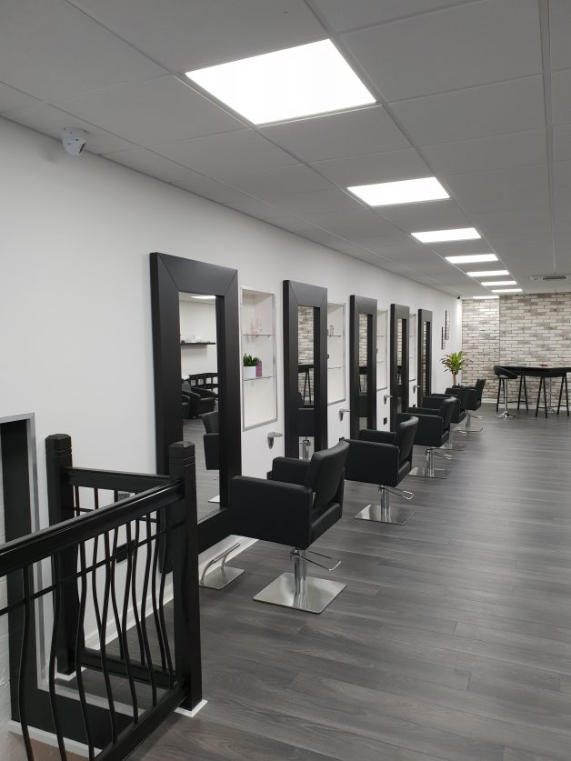 Harveys: Take a look inside Doncaster's new hairdresser's