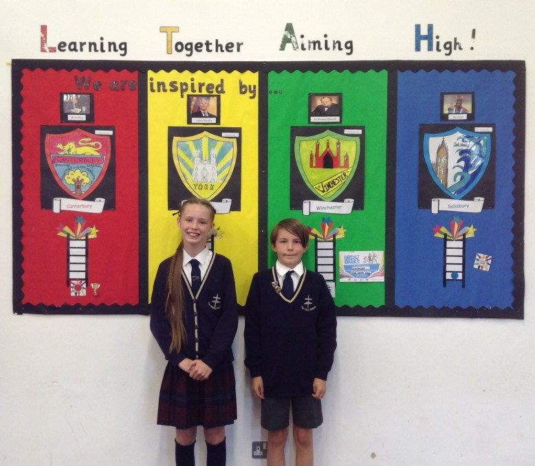 Head Boy & Head Girl Autumn Term 2018