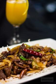 Rickshaw Restaurant & Lounge - Mongolian Beef