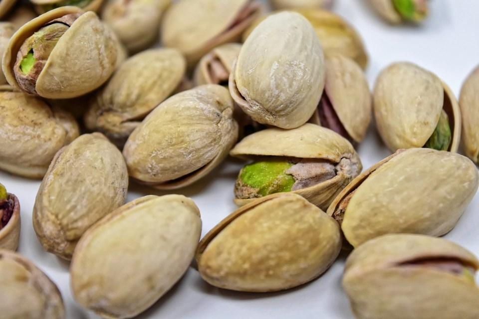 imagem da castanha de pistache