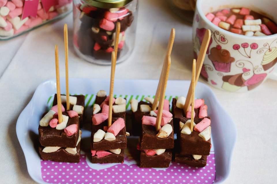 imagem lembrancinha de festa chocolate quente