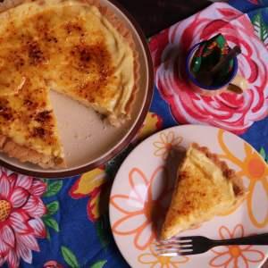 imagem torta doce de milho verde