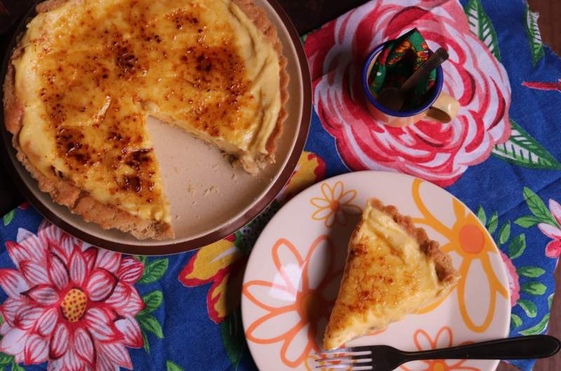 Torta doce de milho verde