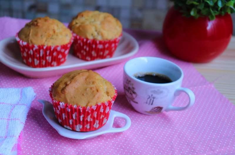 Muffins de Queijo Parmesão