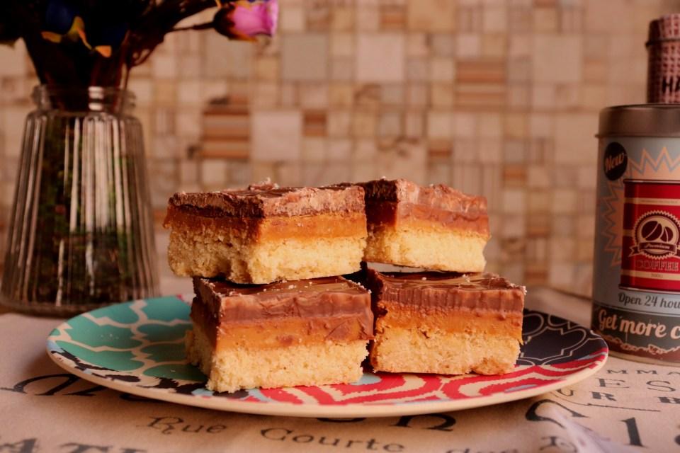 imagem caramel shortbread
