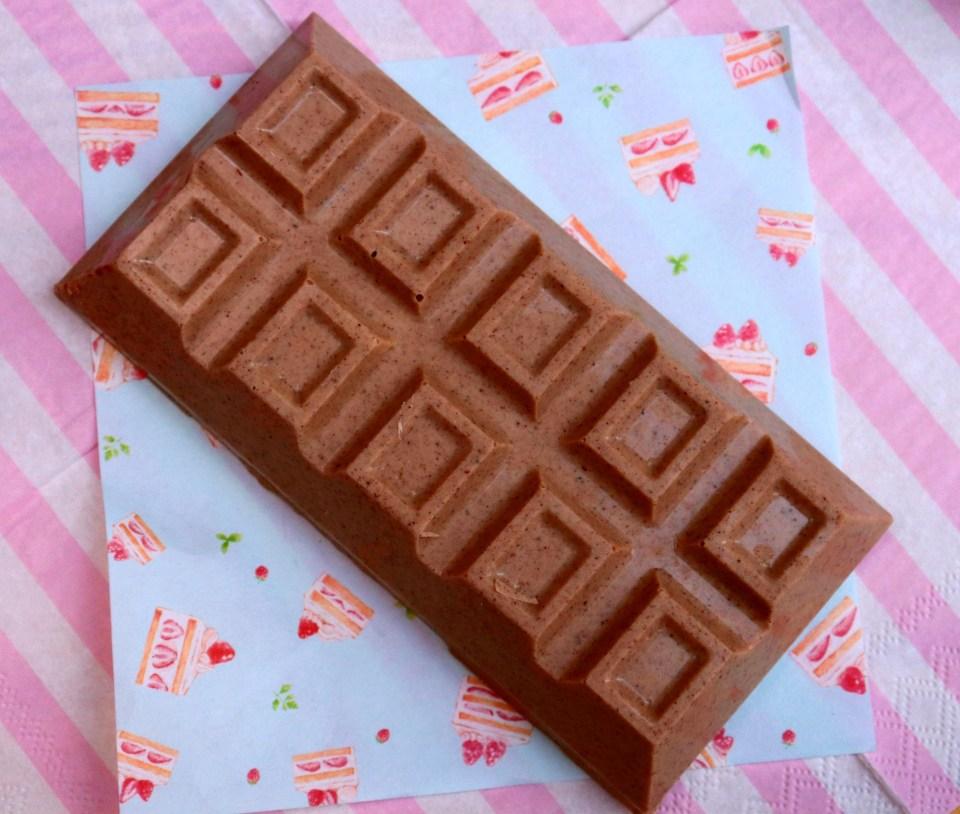 imagem barra de chocolate sabor canela