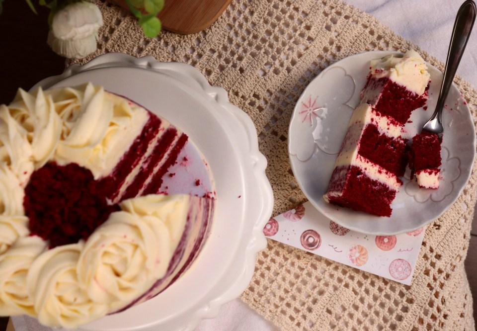 imagem bolo Red Velvet