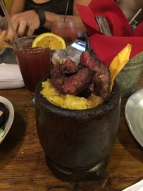 Mofongo with Skirt Steak