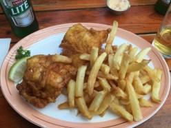 Salty Sea Dog - Kingklip & Chips