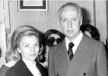 """Año 1975 """"Isabel"""", presidente de la nación. Luder, vicepresidente"""