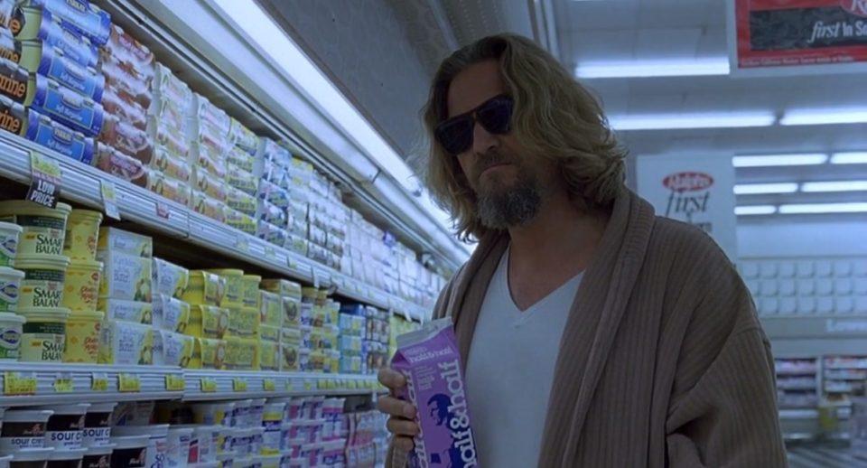 The Dude /Jeffrey Leboswki (Jeff Bridges) en Identidad peligrosa (1998)