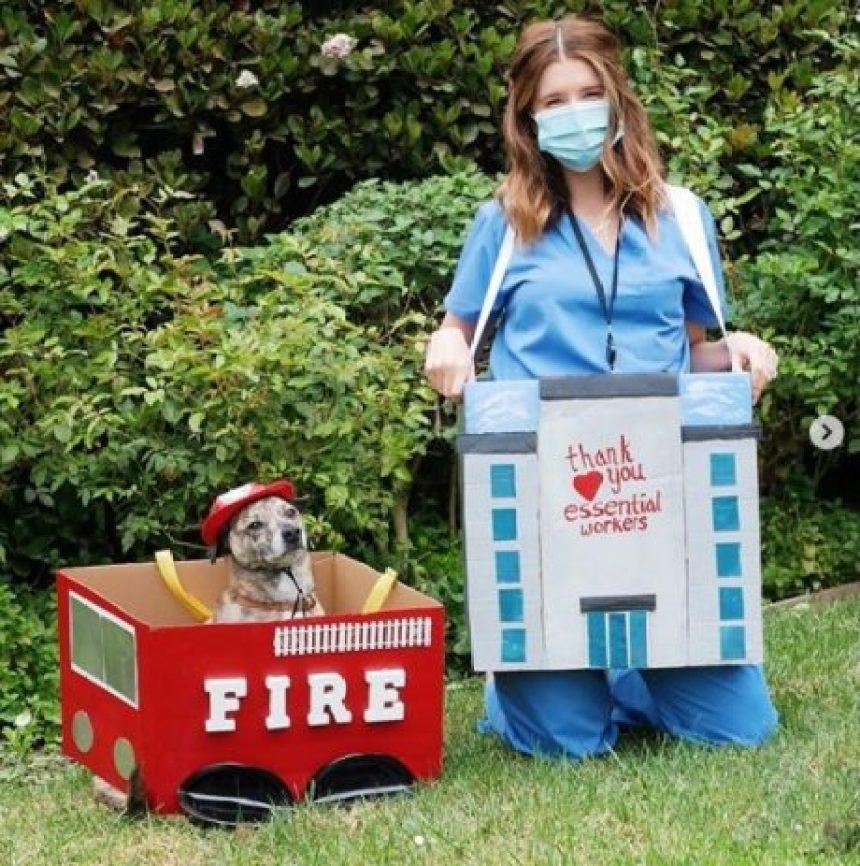 Los mejores disfraces de las celebridades utilizados en Halloween 2020