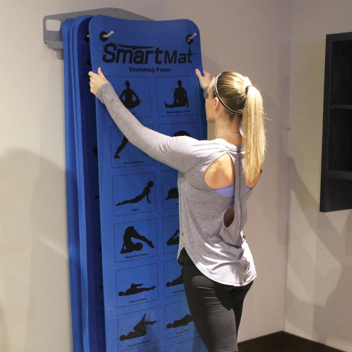 WallMounted Mat Rack  Prism Fitness Group