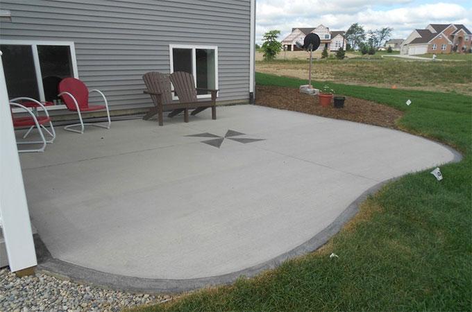 Voyons les differentes etapes dune construction de - Peinture pour terrasse beton ...