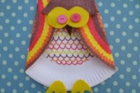 How to make a paper plate owl - Netmums