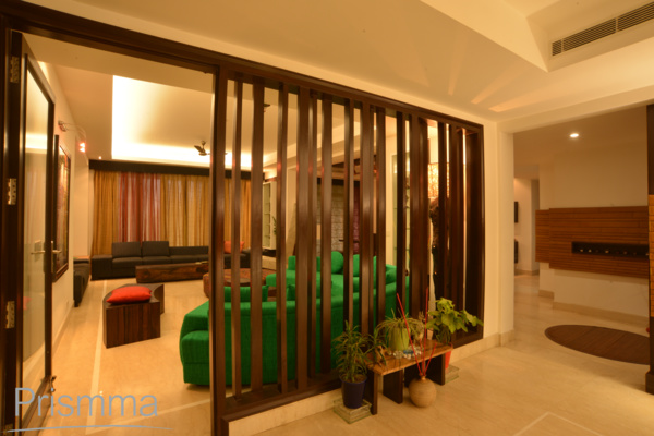 Interior Design India Using Partition And Screens In