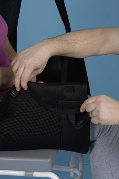 commode chair uk arm covers for chairs prism comfort recline sling - medical uk, , moving, handling and bathing solutions