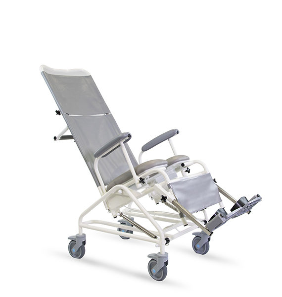 Freeway T80 AUTO Reclining Shower Chair  Prism Medical UK