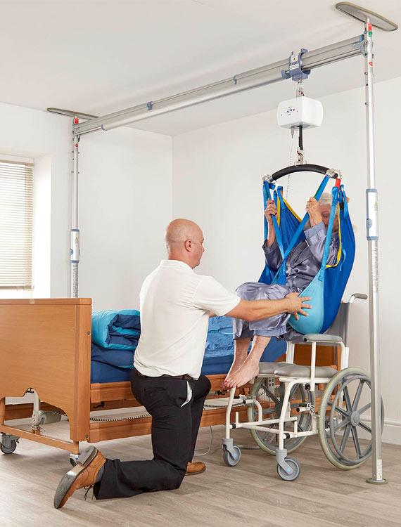 Prism Easy Fit Gantry System  Prism Medical UK moving