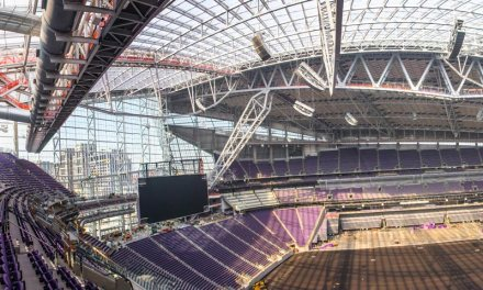 New Vikings Football Stadium first in the U.S. to use lightweight ETFE film roof