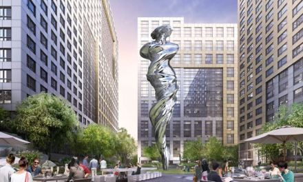 Towering Venus sculpture to reign over art-themed realm—SF residential project's plaza