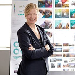 Maddy Burke-Vigeland is an Architect and Principal who leads Gensler's global network of Community Sector practice areas, which include our Education & Culture, Health & Wellness, Aviation & Transportation, Planning & Urban Design and Mission Critical Facilities practices.
