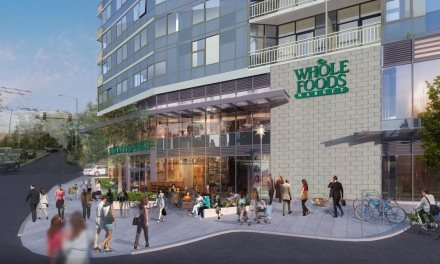Construction begins on The Danforth apartment tower and Whole Foods Market in Seattle's First Hill
