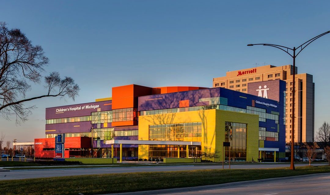 Children's Hospital of Michigan project brings home the Silver with sustainable design