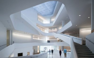 BNIM Architects and Steven Holl Architects celebrate opening of University of Iowa Visual Arts Building