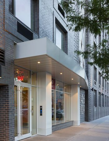 46-09 Eleventh St. in Long Island City, NY. Architect: GF55 Partners. Photographer: Timothy Hutto