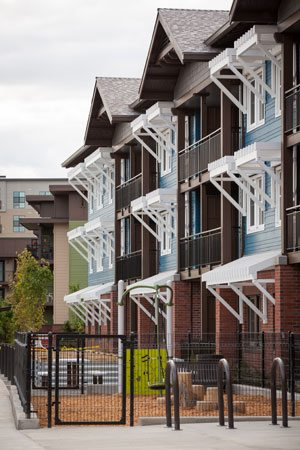 Orchards at Orenco Phase II. Credit: Casey Braunger, Ankrom Moisan Architects.