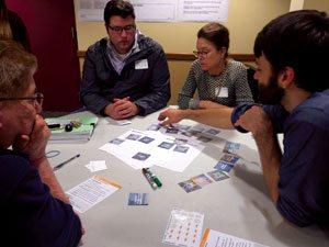 Community meeting in Millvale. Photo credit: evolveEA