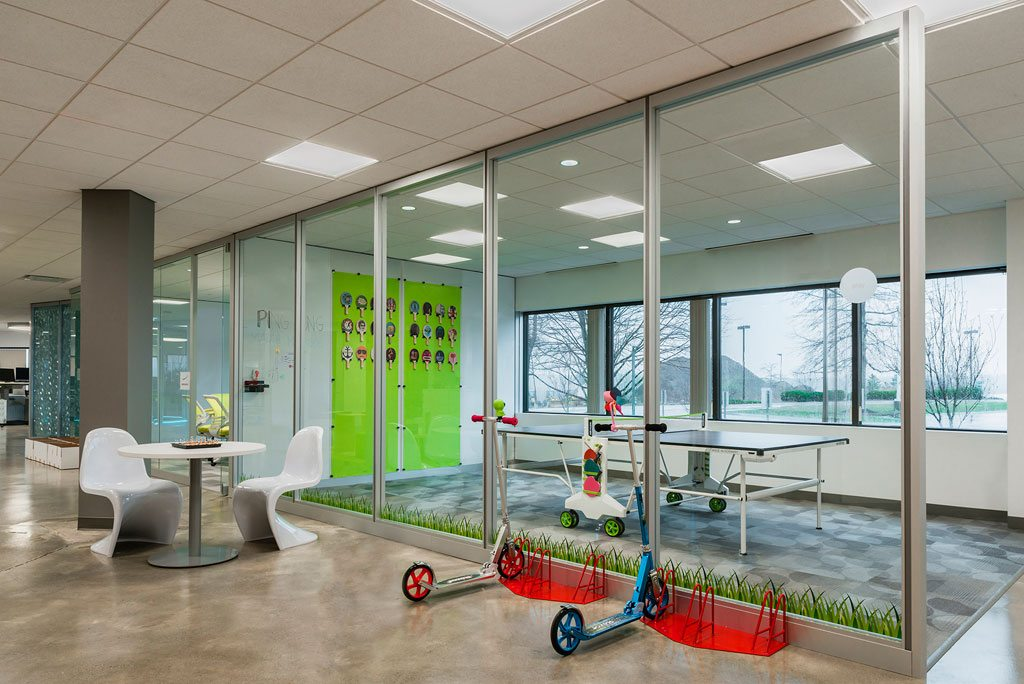 The Predictive Index's corporate headquarters,101 Station Drive, Westwood, Mass. Photo: Sabine Mueller Creative.