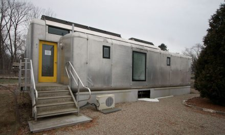 """""""Tiny Solar House"""" transitions from concept to permanent home"""