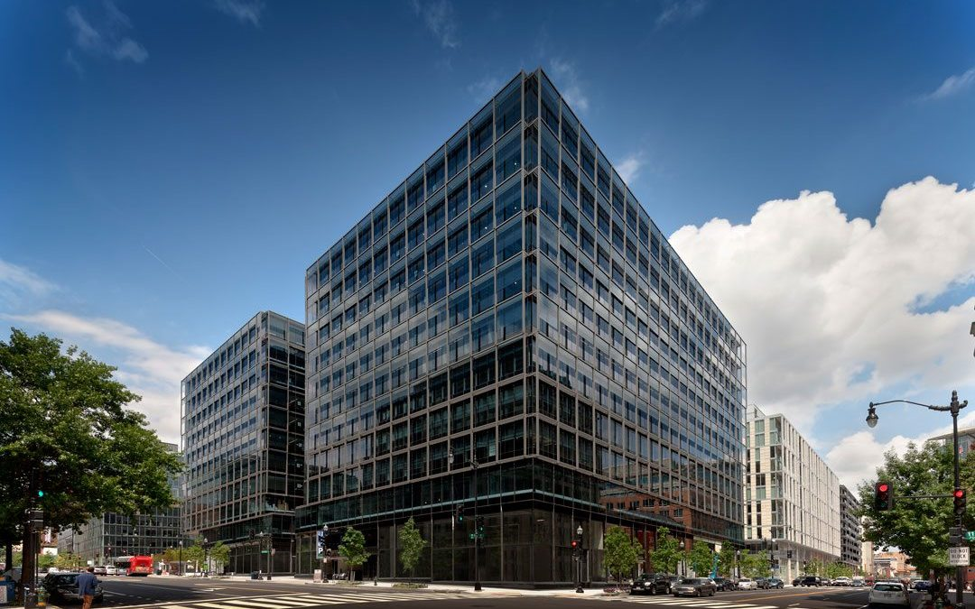 CityCenterDC office towers feature Valspar's Fluropon high-performance PVDF finishes