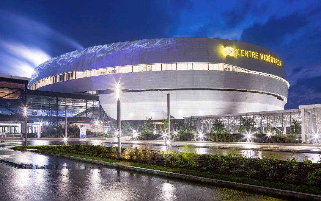 PPG DURANAR XL coatings add brilliance to new Centre Vidéotron