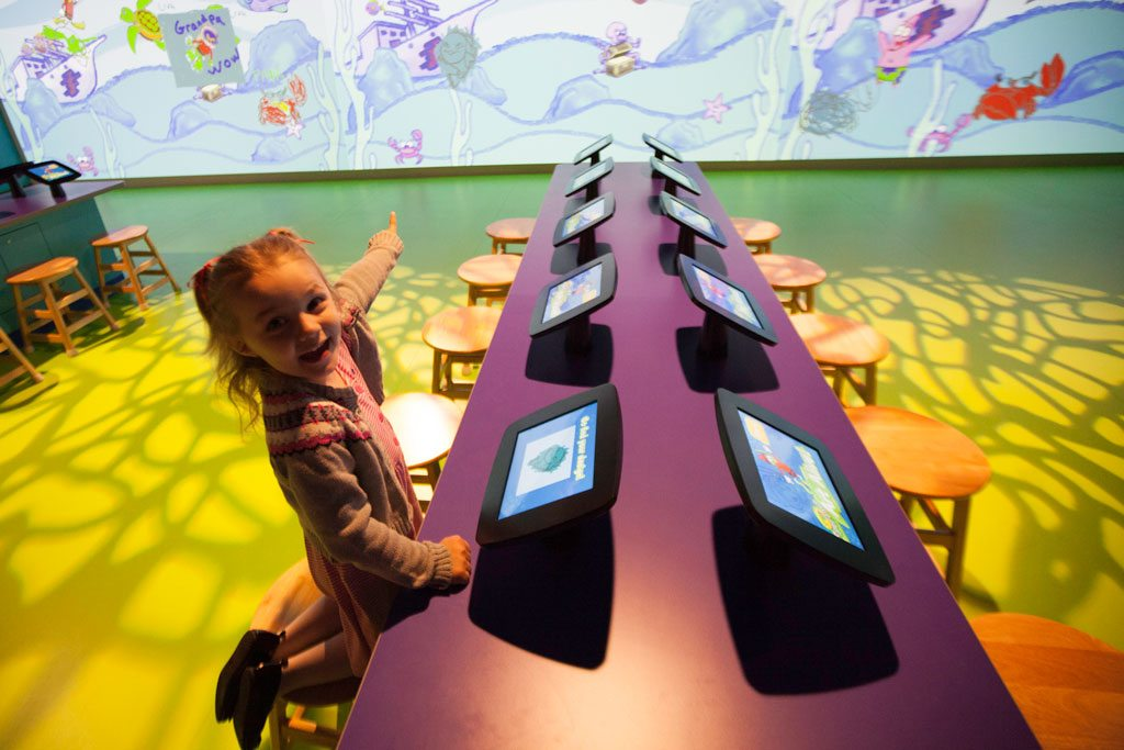 Crayola Experience at the Mall of America in Bloomington, MN. Image credit: Crayola