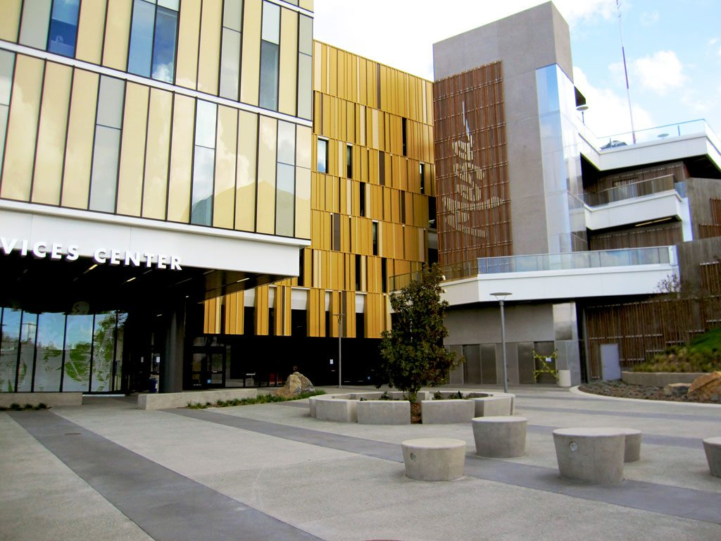 Fluoropolymer coatings brighten Mesa Community College Student Services Center  PRISM
