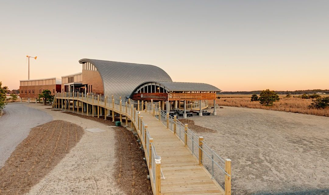 Cypress Inside and Out as Environmental Center Earns Living Building Certification