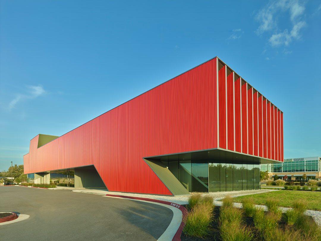 Harvey Pediatric Clinic; Rogers, Arkansas. Marlon Blackwell Architects. Photo: © Timothy Hursley