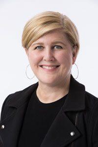 Carolyn Rickard-Brideau, AIA, NCARB, LEED AP BD+C, provisional WELL AP
