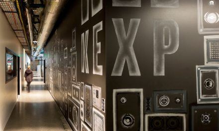 KEXP Headquarters, a landmarked building reborn as a light-filled global music hub