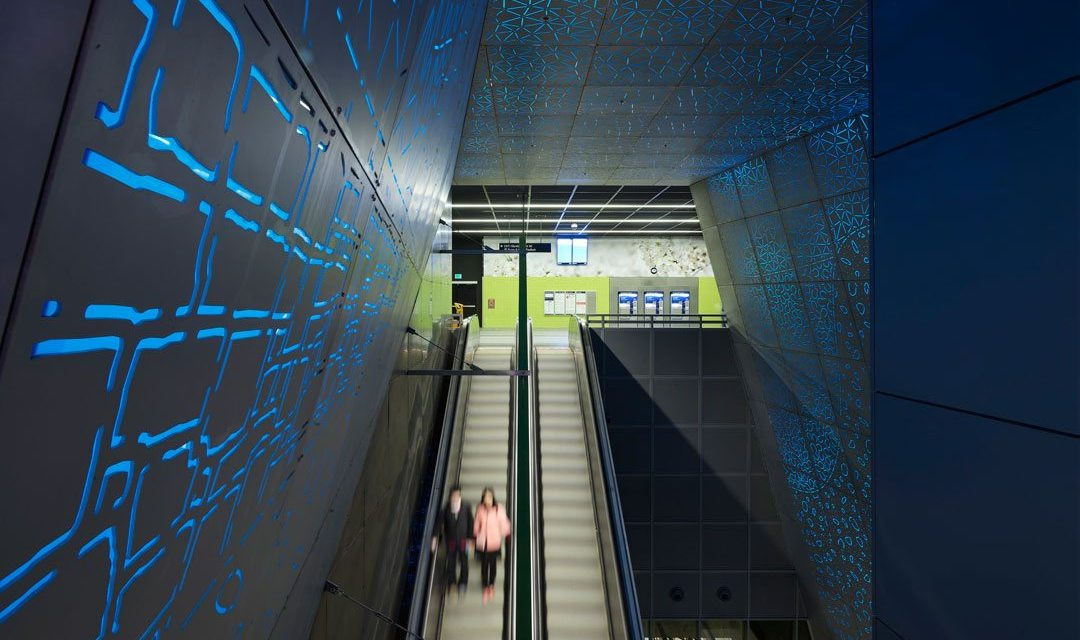 Sound Transit's University of Washington Station designed by LMN Architects